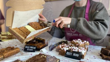 The Simply Cake Co shop has opened for customers.