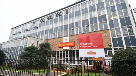 The Royal Mail depot in Norwich. pic: Archant