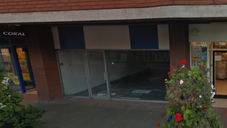 The unit in Haverhill which could become a new Papa John's takeaway