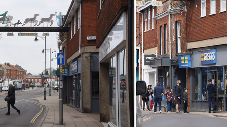 Dereham's streets are looking more alive since restrictions started to ease in the UK