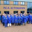 The PCE Automation team Picture: PCE Automation