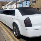 Limo pulled over on Lincoln Road in Peterborough