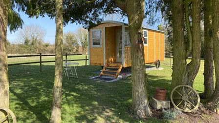 Beauty Escape isa new beauty salon in a shepherds hut, which wasbuilt at a home in New Buckenham.