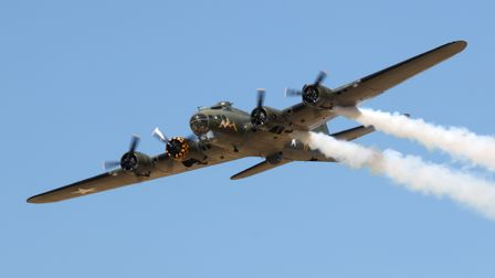 Sally B,the only B-17 Flying Fortress in Europe