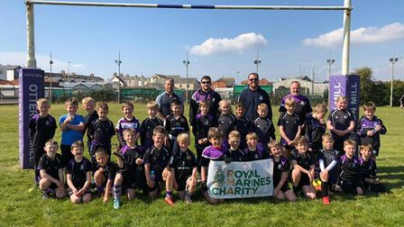 Exmouth rugby juniors loving their return