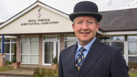 Mark Nicholas, managing director ofthe Royal Norfolk Agricultural Association, which organises the Royal Norfolk Show