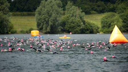 The event, at Alton Water, will have safety measures in place