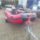A Seasearcher dinghy has been stolen from a business in Station Road, Woodbridge