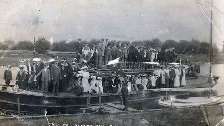 Trip to Denver from Ely in 1907