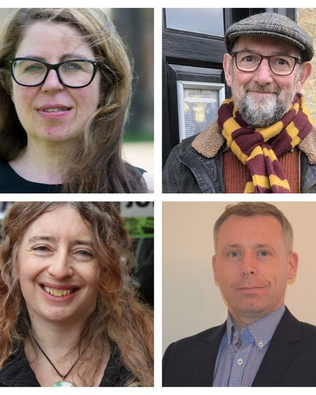 The four nominations for the Ely South division in the 2021 Cambridgeshire County Council elections