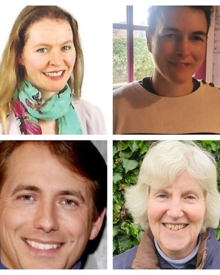 The four nominations for the Soham South and Haddenham division in the 2021 Cambridgeshire County Council elections