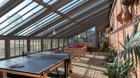The games room inside The WalledGarden.