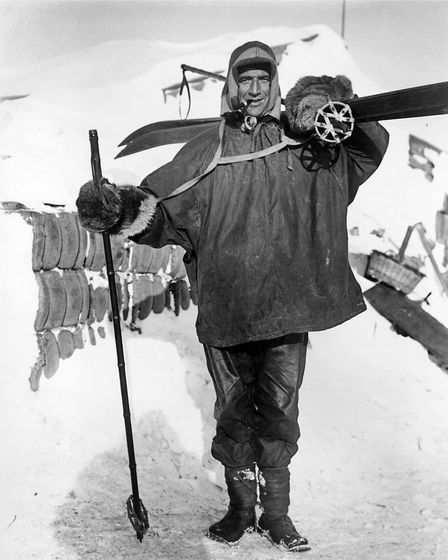 Polar explorer Tom Crean, whose life has been commemorated in the Pioneer gin