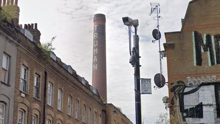 IconicGrade II-listed Truman's chimney dominates Brick Lane... it's future now up in the air