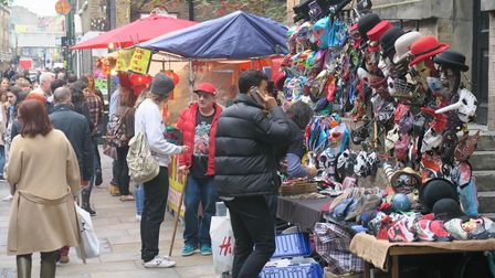Thriving market place at Old Truman's Brewery... but what of its future?