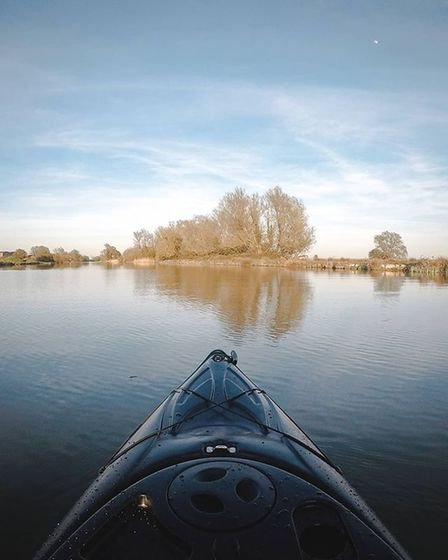 First time out on my new kayak last night. Excited to explore lots of rivers and take lots of photos while out on the river.