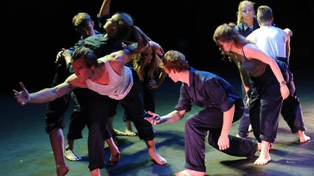 Young Norfolk Arts Festival 2015. Norwich School pupils perform in a Gala Night at Norwich Theatre R