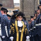 The Battle of Britain 75th anniversary parade at City Hall, Norwich where RAF Marham personal(pictur