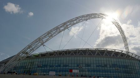 The long road to Wembley will continue on Saturday September 26. Picture: PA