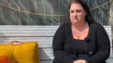 Lucy Wilson, 33, speaking to the EDP about her botched gallbladder surgery