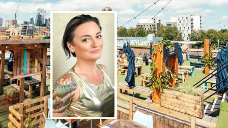 Queen of 'mock' comedy... Zoe Lyons lined up for May 19 at Skylight