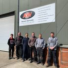 The team at AW Smart Repairs
