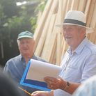 The Methwold Auction Mart is celebrating its 400th year. Pictured is Auctioneer George Reeve. Pictur