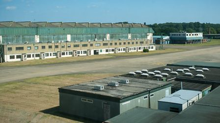 Views from the control tower at the former RAF Coltishall. Photo: Bill Smith