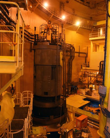 Sizewell B Nuclear reactor Picture: CHARLOTTE BOND
