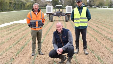 Home Farm in Nacton has taken delivery of a Robotti 150D, the first robotic tractor in the UK