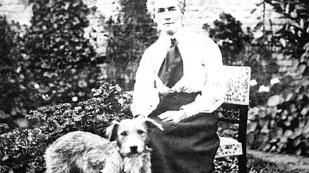 Edith Cavell in Belgium. Picture: Imperial War Museums