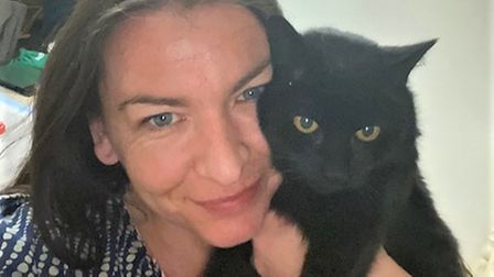 Gemma Barbieri, from Thetford, has been reunited with her cat Rose after she went missing 13 years ago.