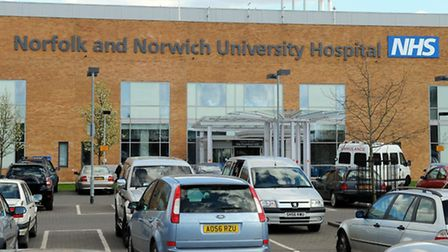 General view of the Norfolk and Norwich University Hospital at Colney; April 2009; NNUH / Hospital /