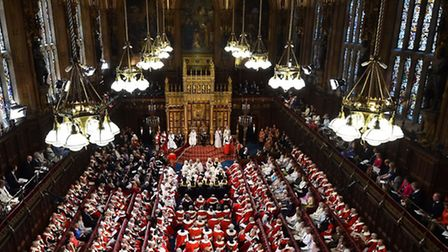 File photo of members of the House of Lords attending the State Opening of Parliament at the Palace