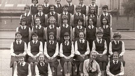The Notre Dame High School, Norwich, girls of 1963 who will be returning to the school as part of a