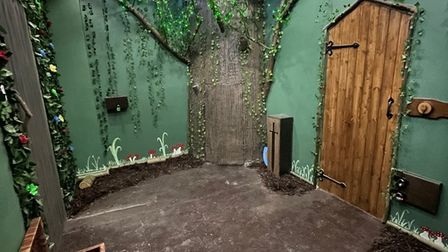 Inside the new Tricky Escape room in Walton.