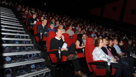 A cinema theatre when Cineworld Ely first opened