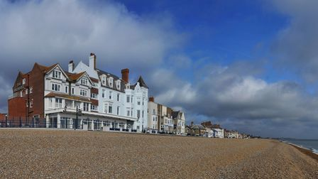 The Brudenell Hotel on Aldeburgh seafront