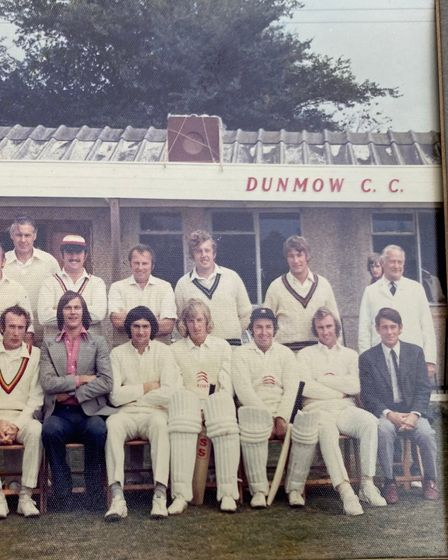 Dunmow Cricket Club and the 1974 Robin Hobbs Benefit Match