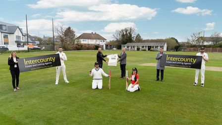 Dunmow Cricket Club has formed a partnership with sponsors Intercounty