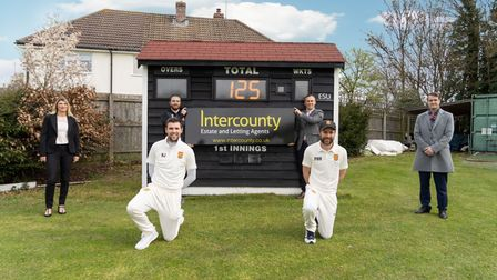 Dunmow Cricket Club is celebrating its 125th year and a new partnership with Intercounty
