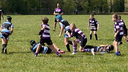 Rugby on the run