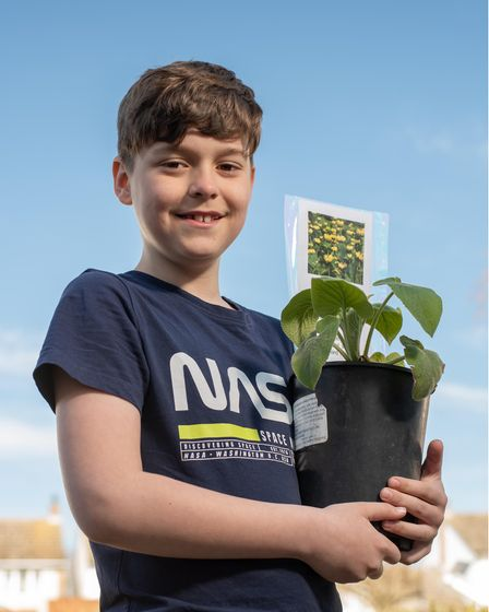 11-year-old Thomas Green with dreams of becoming a horticulturalist has started his own plant-sellin