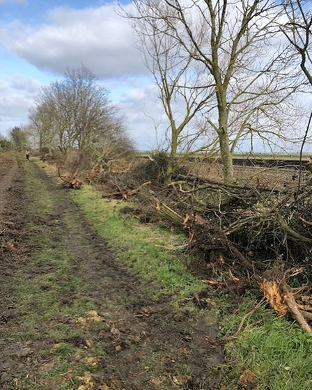 Bishops Way after clearance works