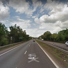 One lane of the A11 northbound is closed near Thetford following an earlier collision