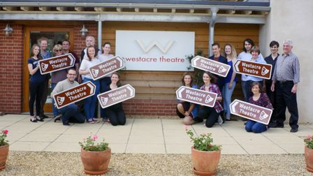 Staff at West Acre Theatre.