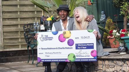 Teresa and Charlie plant to retire to Nevis in the Caribbean with the money they've won