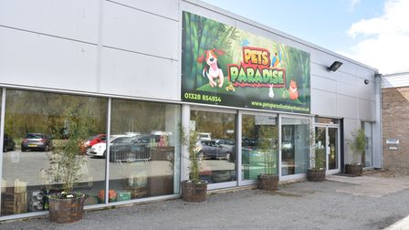 Pets Paradise opens in Fakenham. The shop is a life long dream of the owner Siven Cook who believes