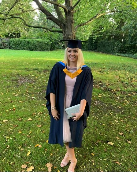 Ashleigh Charlesworth suffered life changing injuries after an explosion at the Kings Head pub in Great Cornard last month