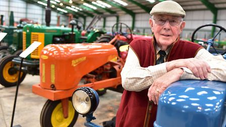 Paul Rackham's huge collection of vintage tractors is to be auctioned off, over 200 vehicles ranging